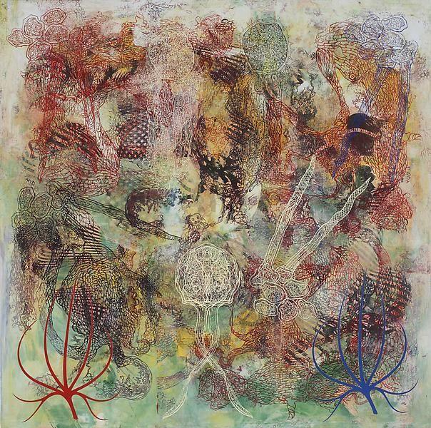 Philip Taaffe Imaginary Landscape I, 2013