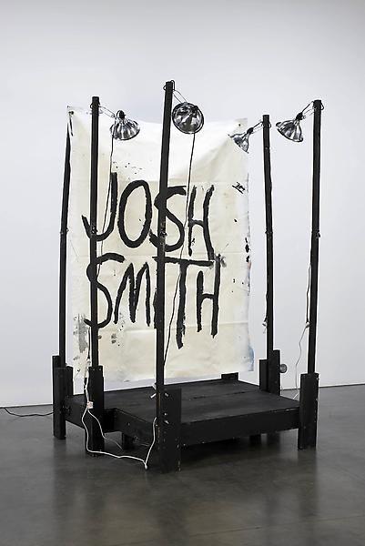 Josh Smith Stage Painting 4, 2011