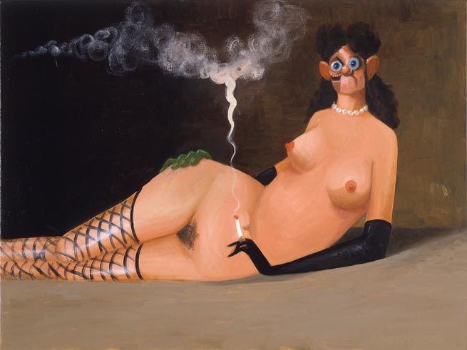 George Condo, Maja Desnuda, 2005