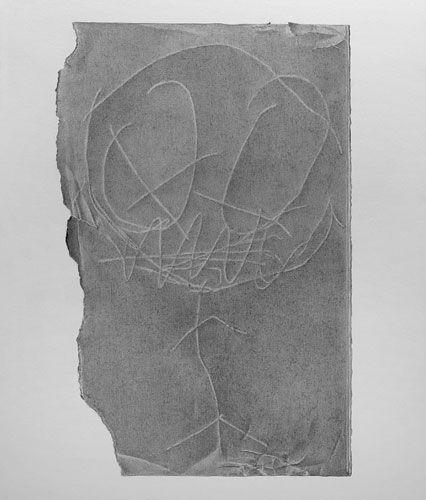 David Musgrave Reverse drawing no. 1, 2008