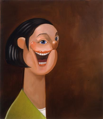 George Condo, Smiling Woman, 2005