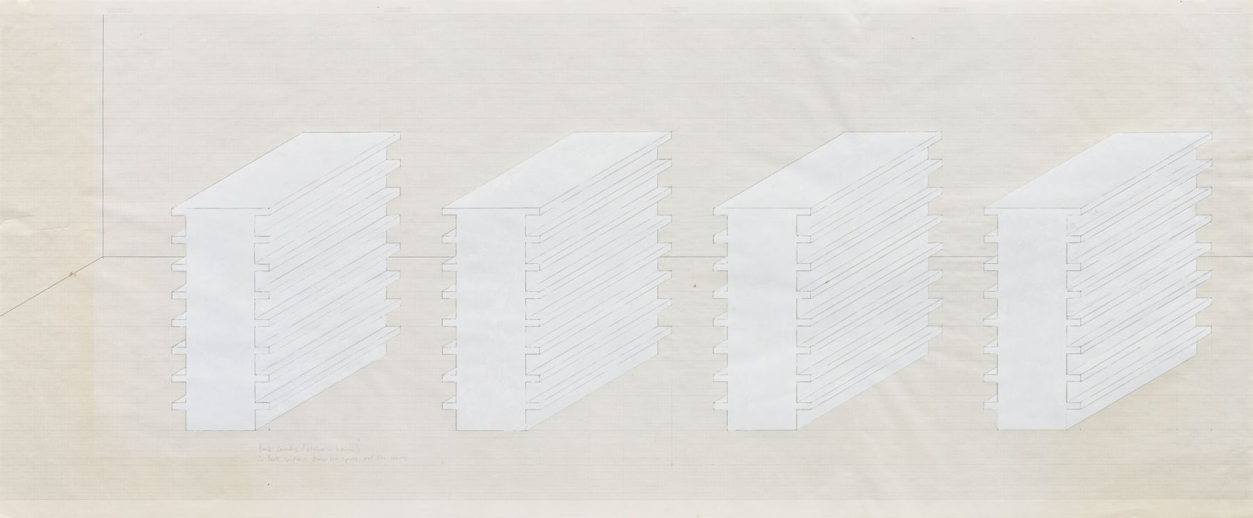 Rachel Whiteread Book Corridors, 1997