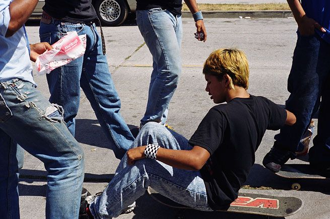 Larry Clark Jonathan Velasquez, South Central Los Angeles, July 4, 2003