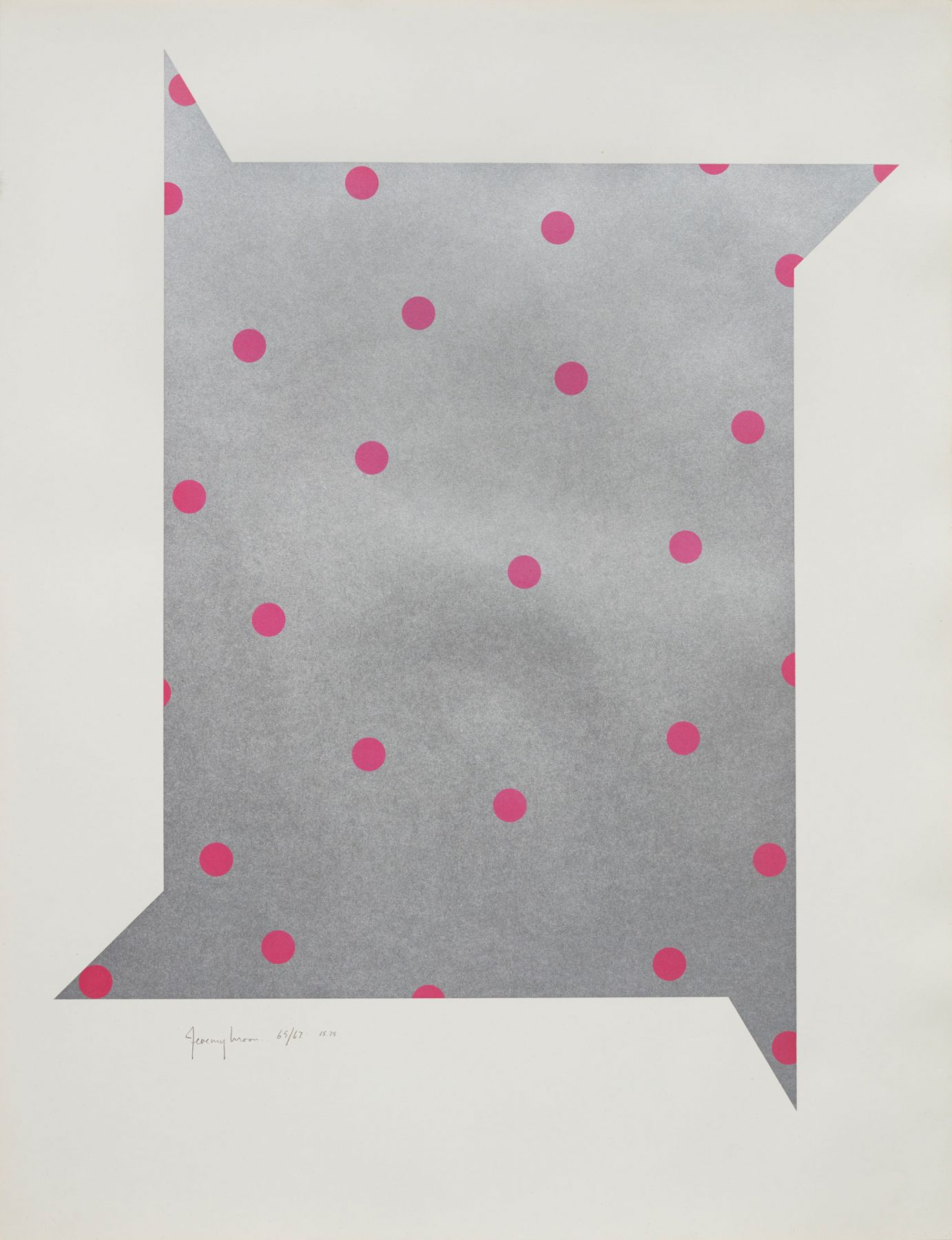 Jeremy Moon, Starlight Hour, 1965-67,  Screenprint on paper, Edition of 75
