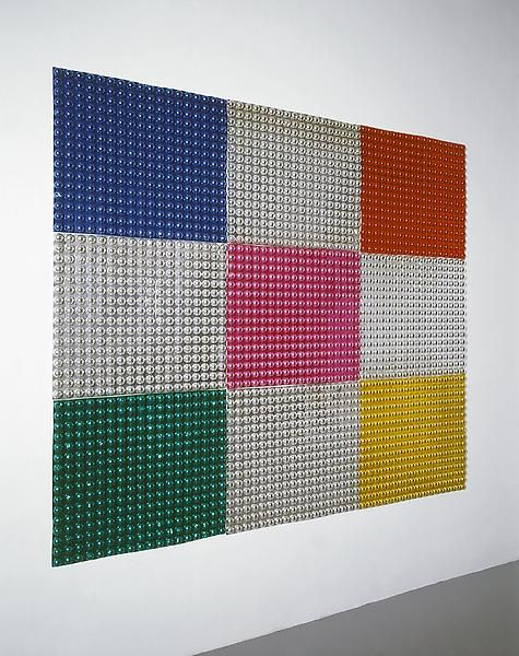Michelangelo Pistoletto Semisfere decorative (Decorative Semispheres), 1965-1966