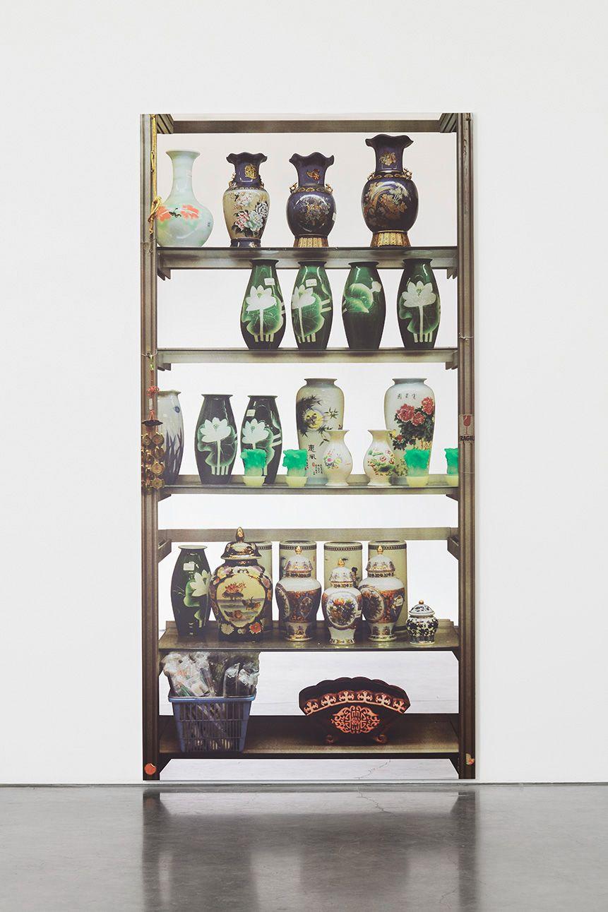 Michelangelo Pistoletto Scaffali – vasi cinesi (Shelves – Chinese Vases), 2016