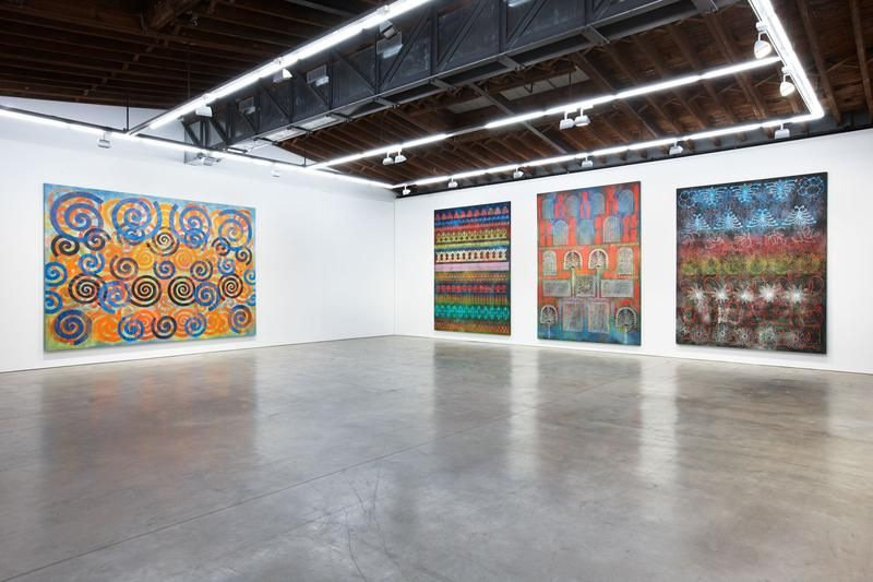 Philip Taaffe Installation view