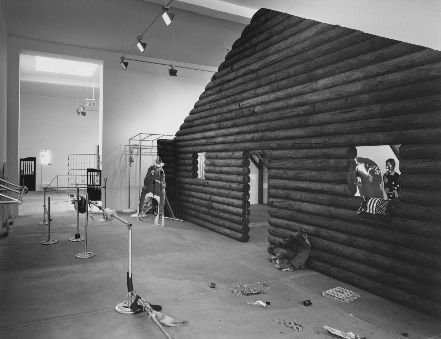 Cady Noland, Installation view