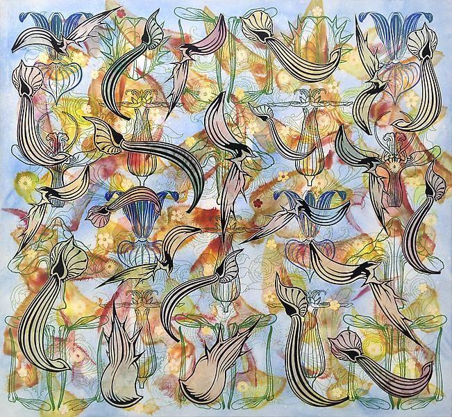 Philip Taaffe Flowering Loculus, 2010-2011