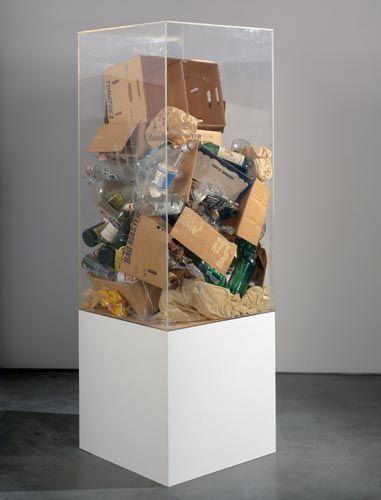 Arman Rauschenberg's Refuse, 1970