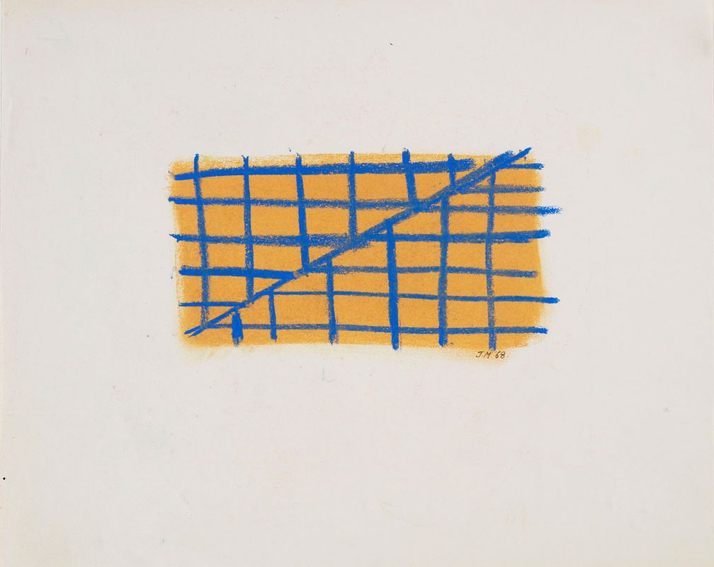 Jeremy Moon, Drawing [68], 1968