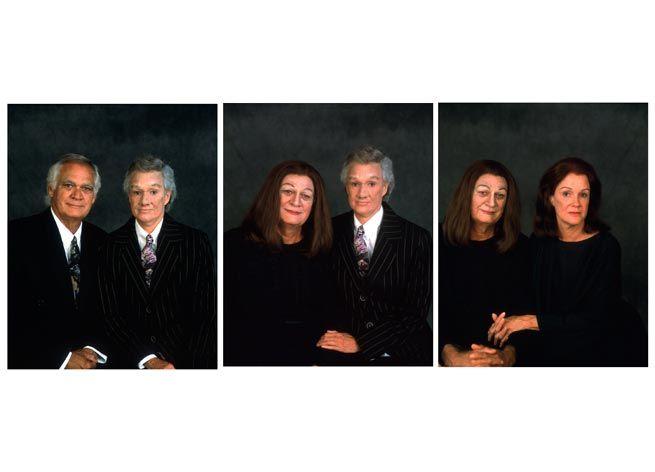Janine Antoni Mom and Dad, 1994