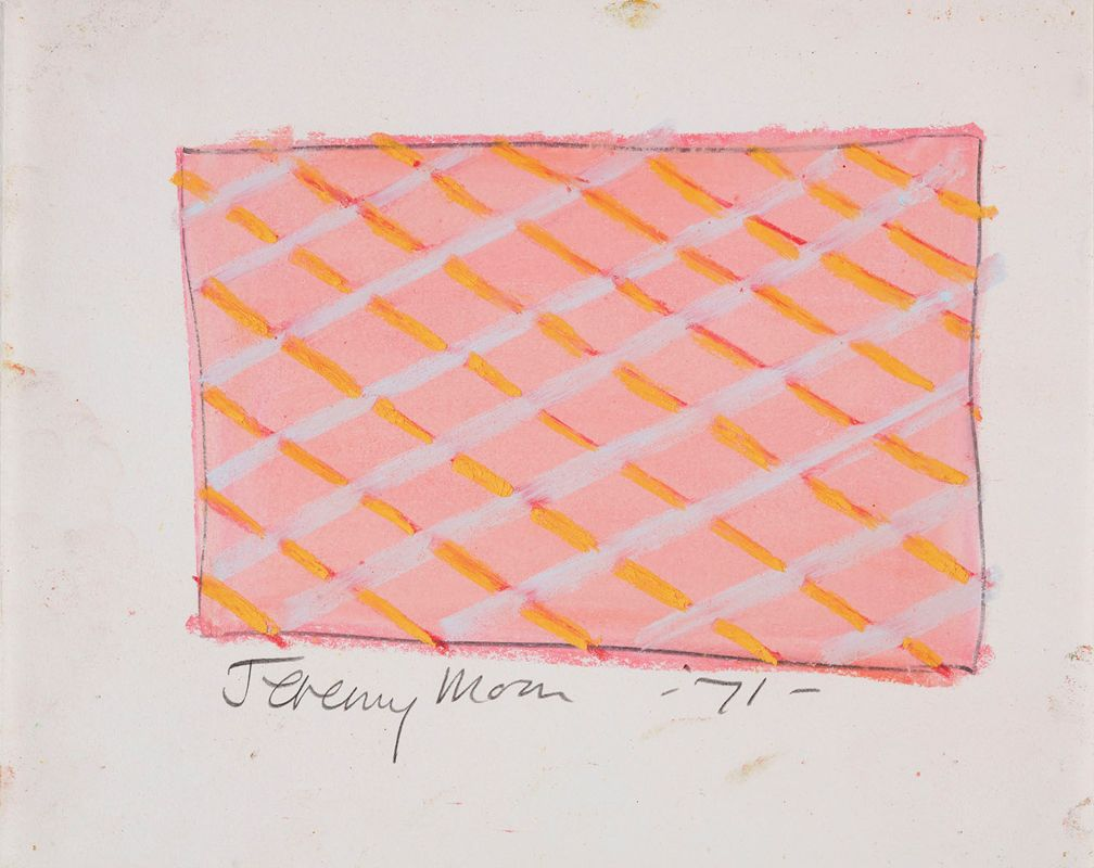 Jeremy Moon, Drawing [71], 1971