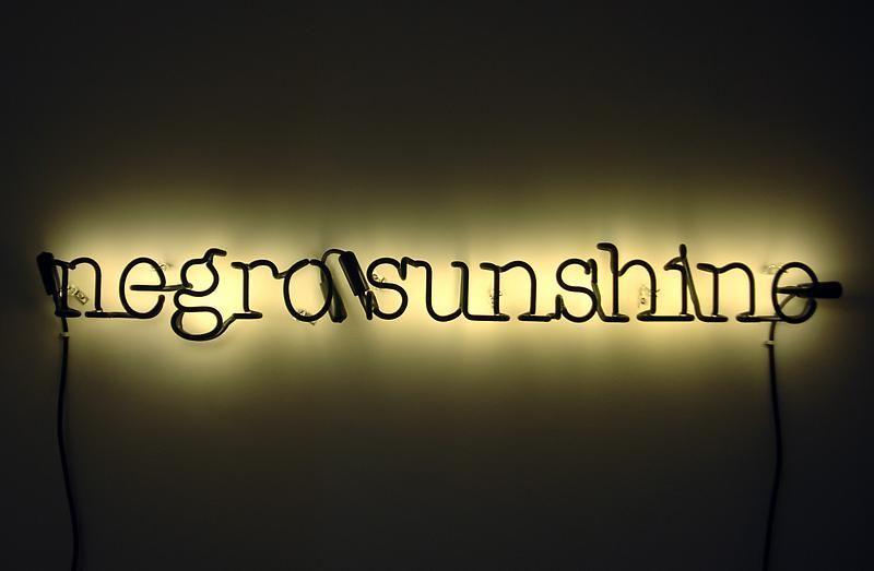 Glenn Ligon, Warm Broad Glow, 2005
