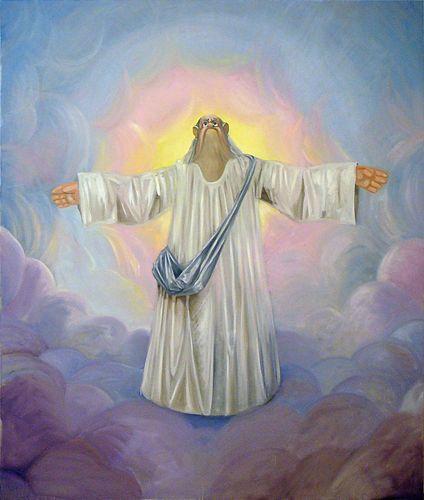 George Condo God, 2007