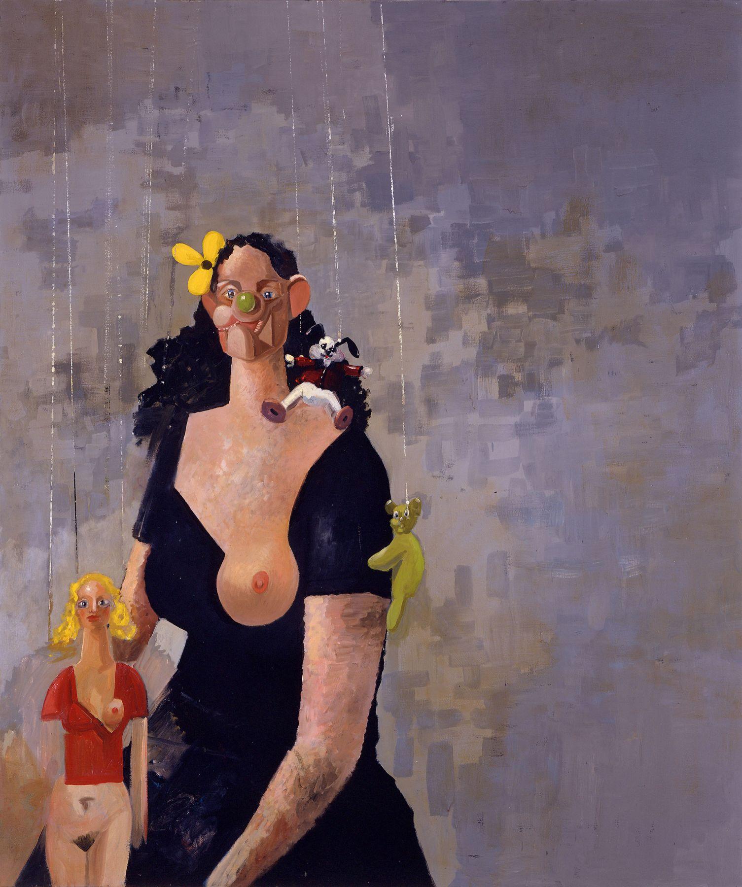 George Condo The Incomprehensible Dream, 2002
