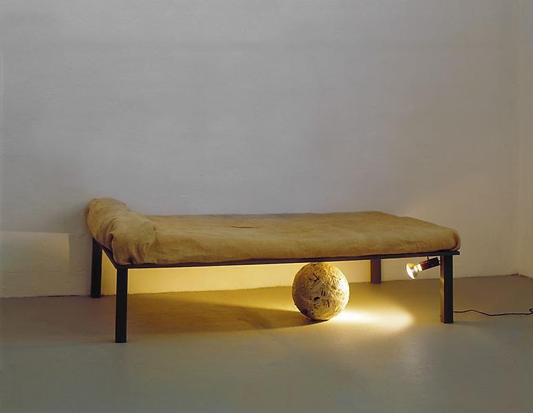 Michelangelo Pistoletto Sfera sotto il letto (Sphere Under the Bed), 1965 - 1966