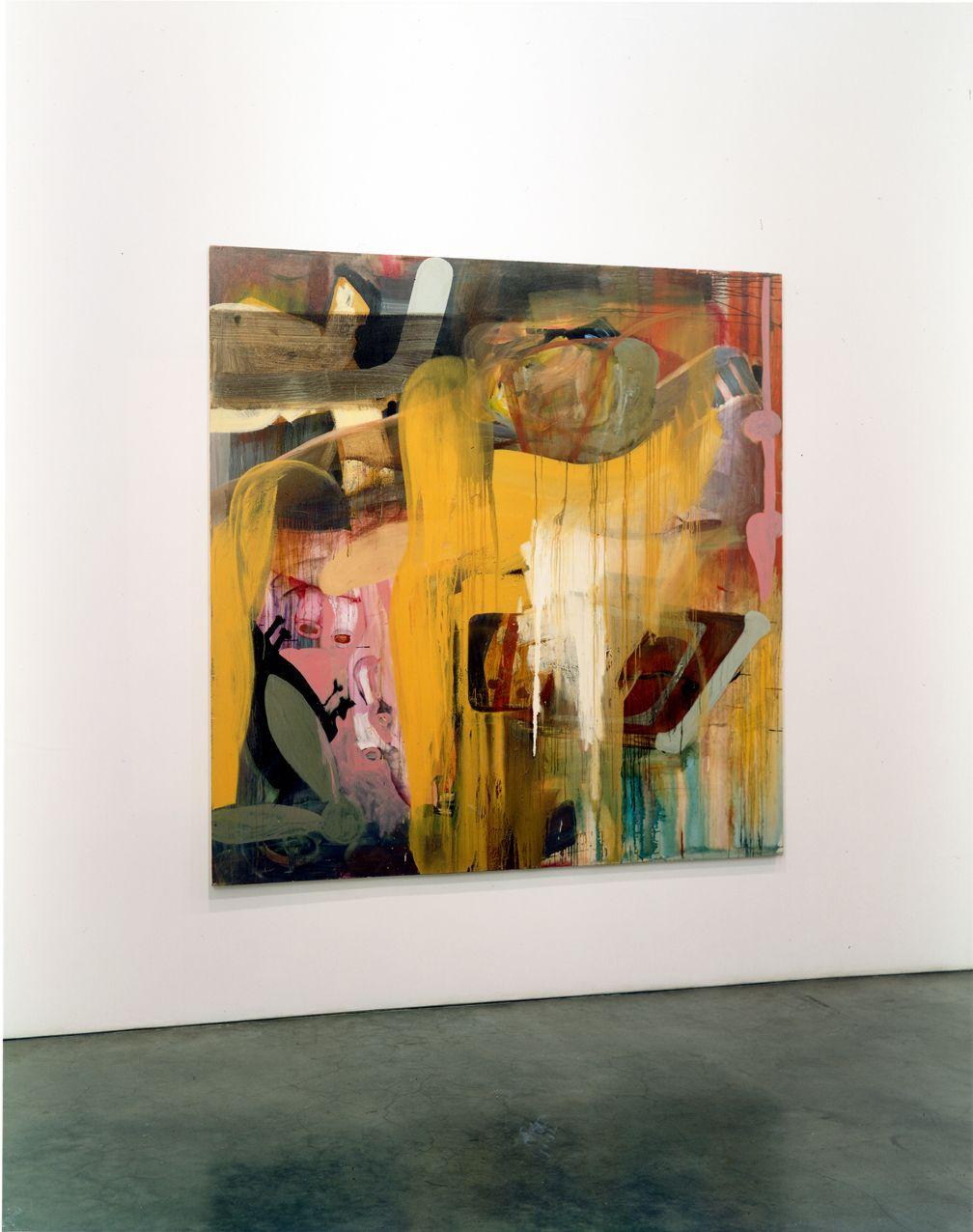 George Condo, Albert Oehlen, Christopher Wool, Installation view