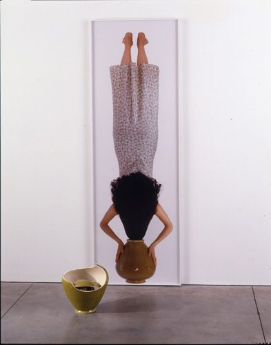 Janine Antoni Caryatid, 2003