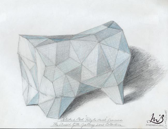 Mattia Bonetti, Polyhedral, 2002