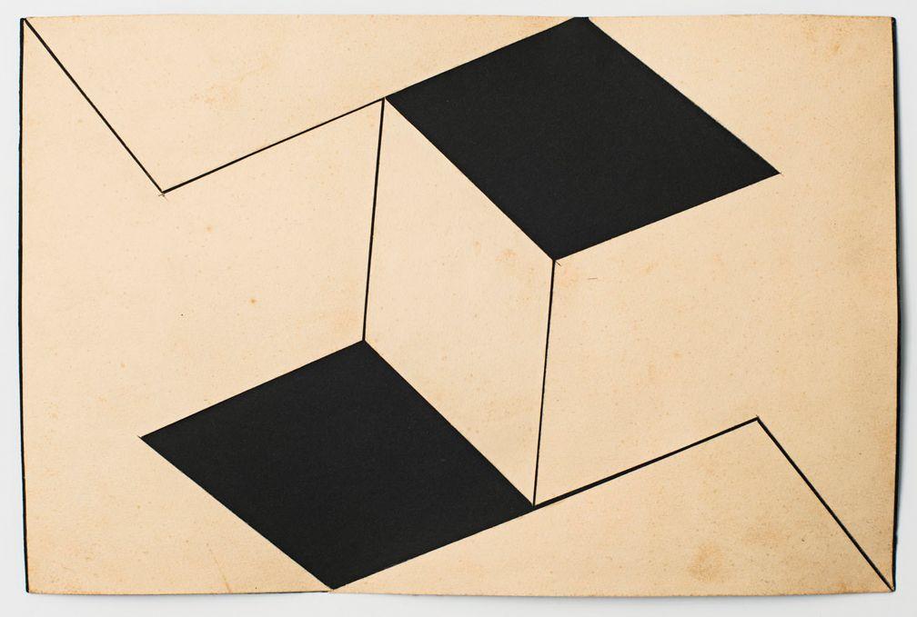 Lygia Clark Estudo para Planos em superfície modulada (Study for Planes in modulated surface), 1957