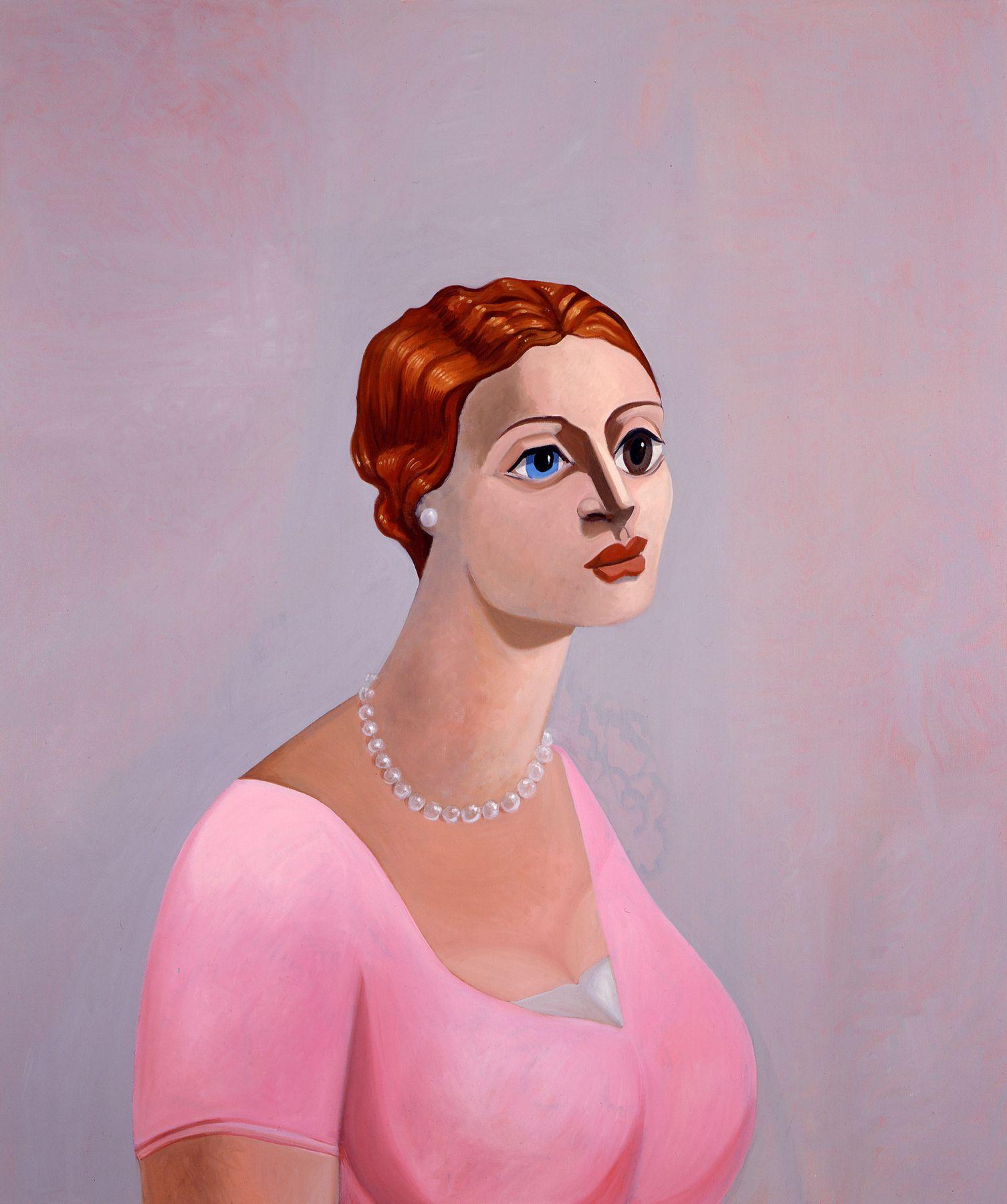 George Condo Portrait of a Woman, 2002