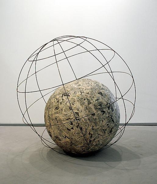 Michelangelo Pistoletto Mappamondo (Globe), 1966 - 1968