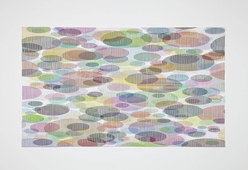 Tom Friedman, Untitled (lily pads), 2012