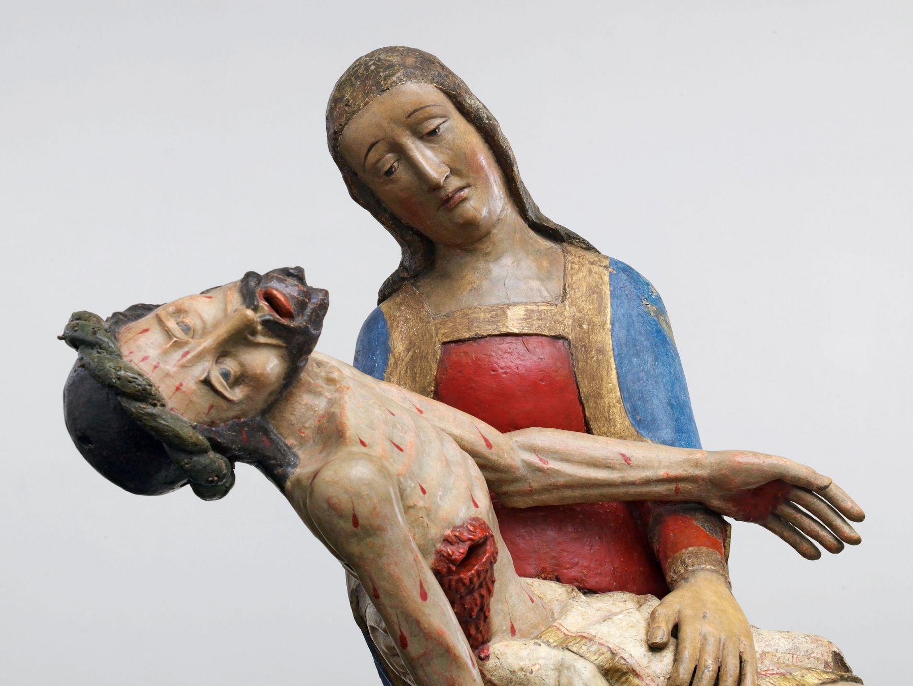 Pietà (detail), Southern Germany