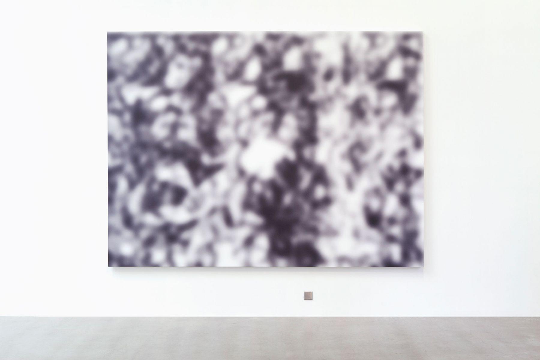 Jeff Elrod Untitled (echo painting), 2015