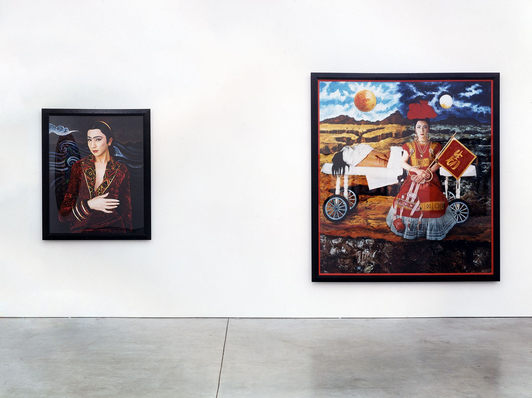 Yasumasa Morimura, Self-Portraits: An Inner Dialogue with Frida Kahlo