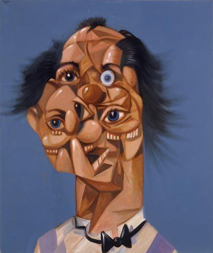 George Condo, Jean Louis' Mind, 2005