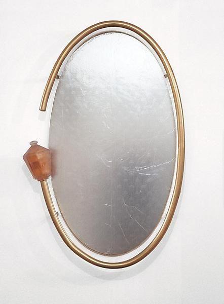 Martin Kippenberger Mirror for Hang-over Bud, 1990