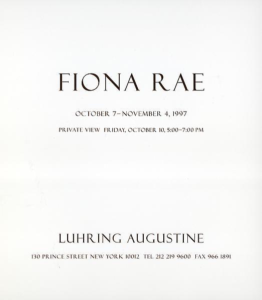 Announcement card (inside)