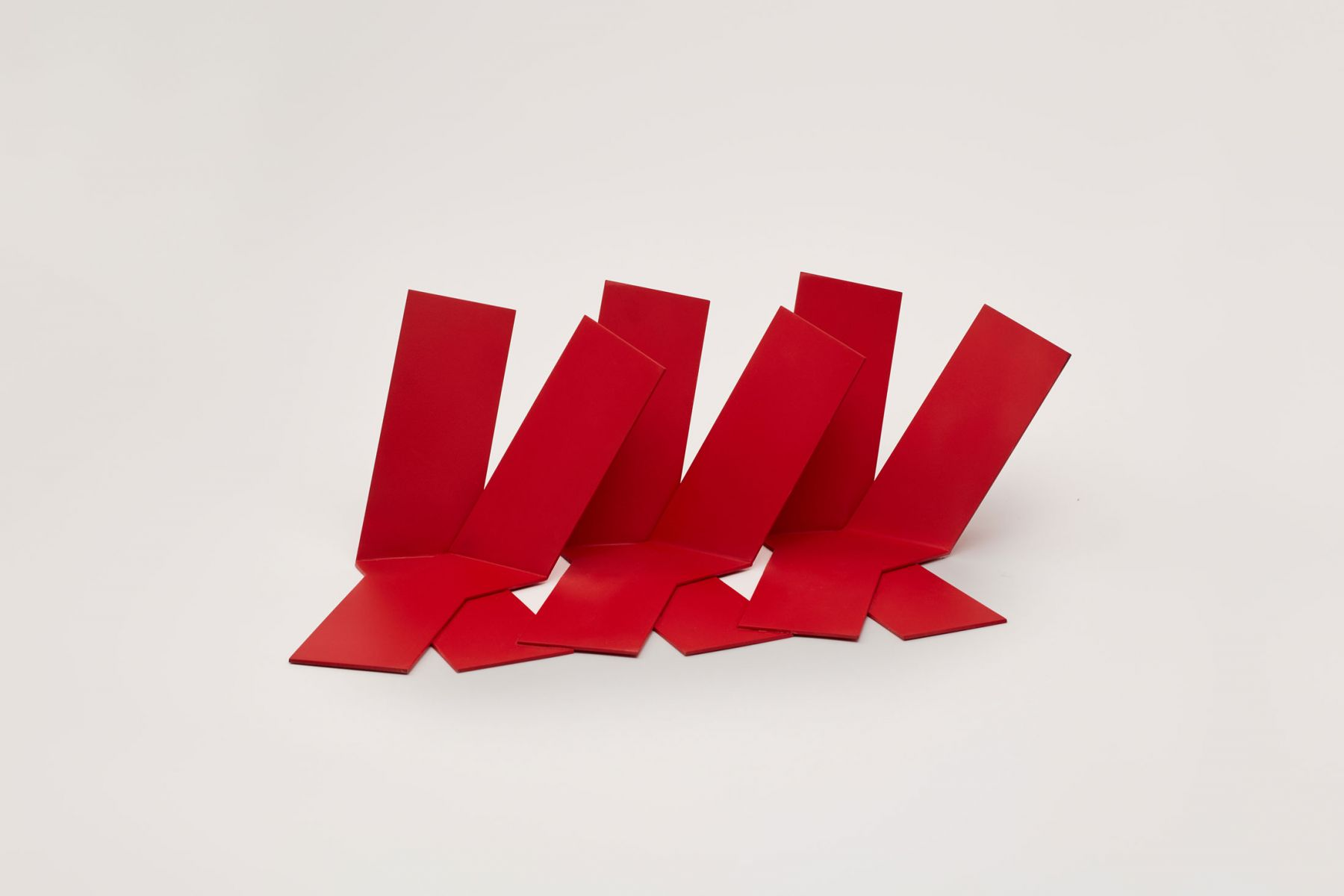 Phillip King, Slant (maquette), 2013
