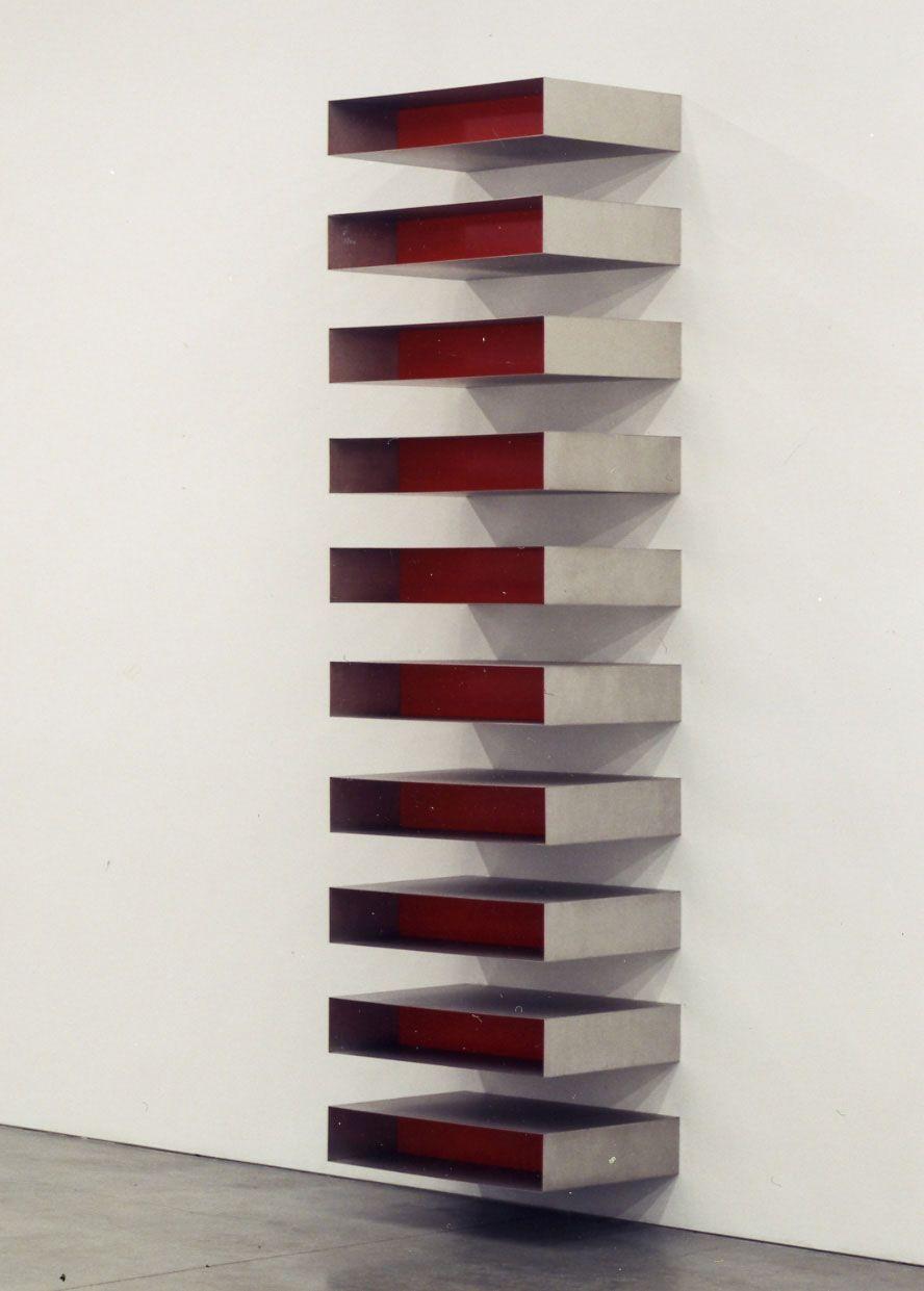 Donald Judd, Stacks