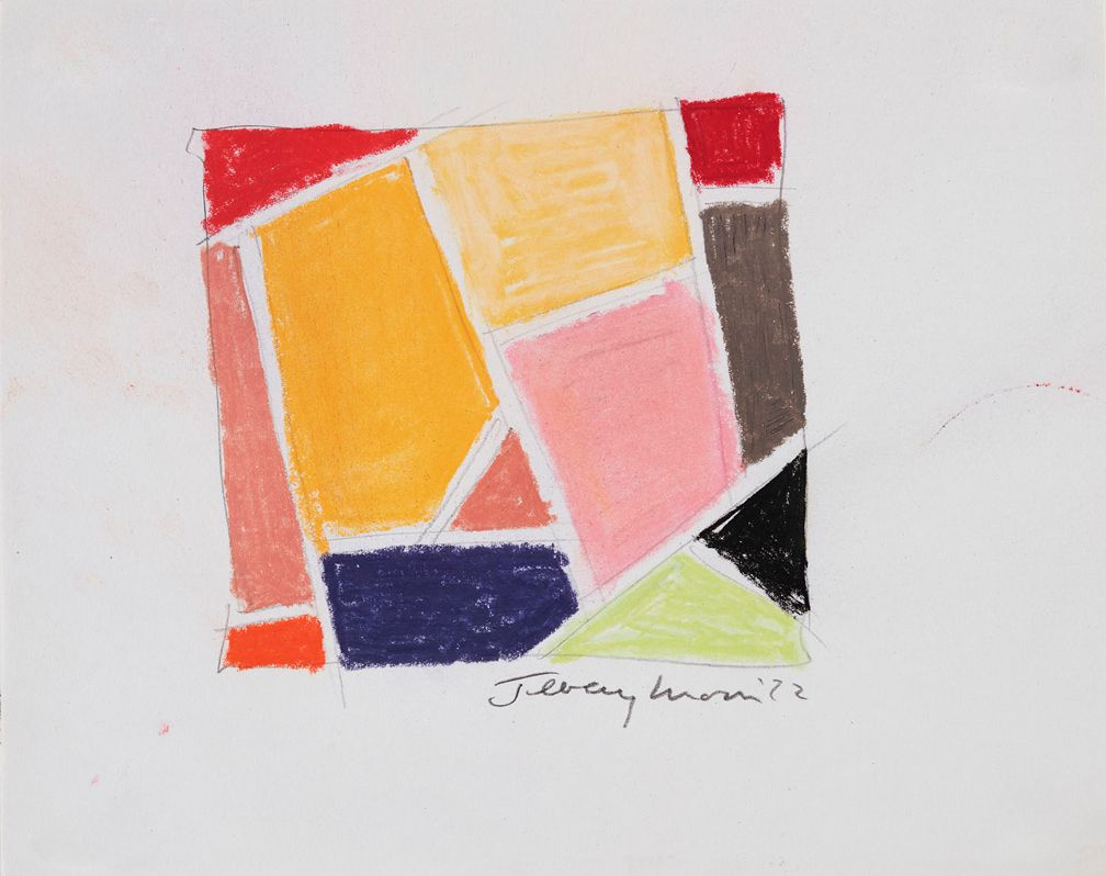 Jeremy Moon, Drawing [72], 1972