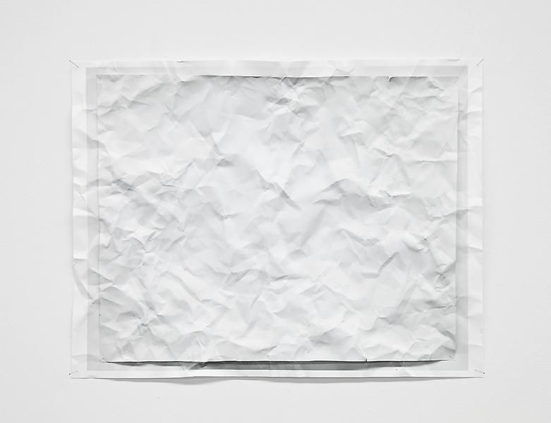 Tom Friedman, Untitled (wrinkled photo), 2012