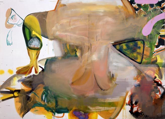 Albert Oehlen, Menschenpemmikan, 2006