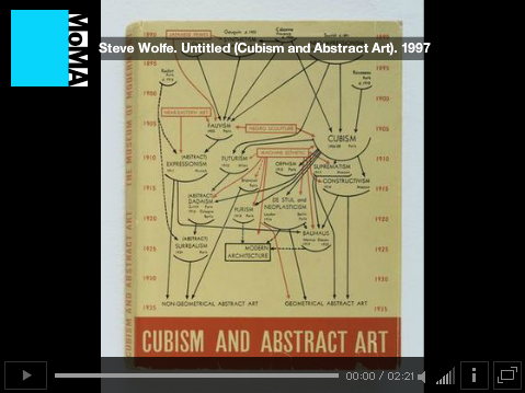 """Steve Wolfe speaking about his work """"Untitled (Cubism And Abstract Art)"""", Audio provided by Acoustiguide. © The Museum of Modern Art."""