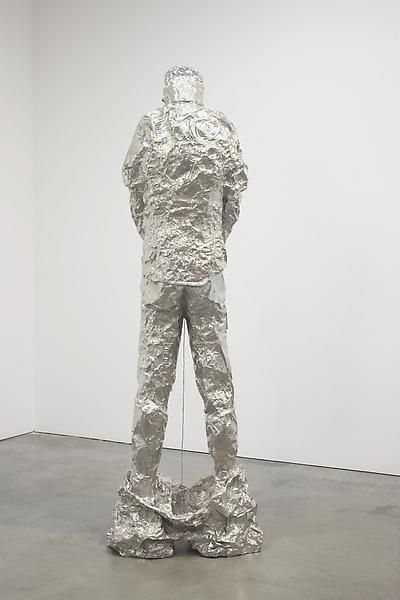 Tom Friedman, Untitled (peeing figure), 2012