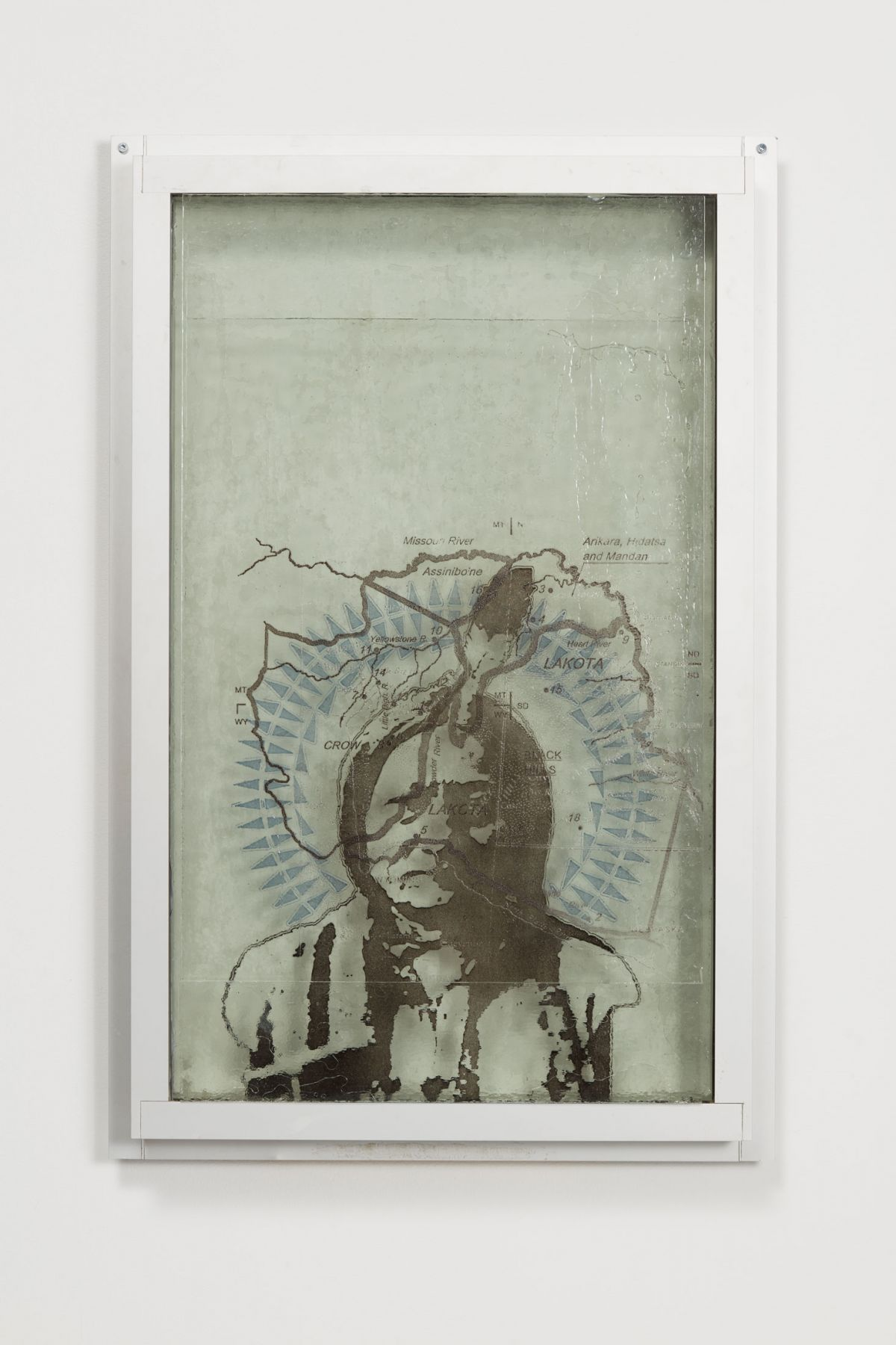 Oscar Tuazon, Sitting Bull (NSRGNTS), 2018