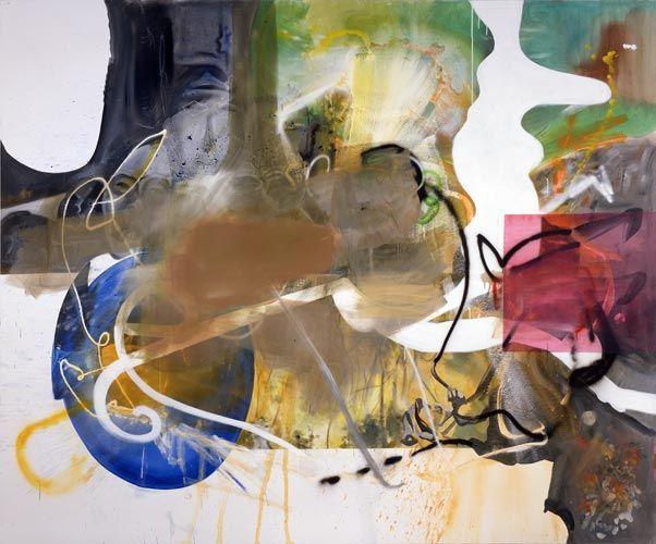 Albert Oehlen, (durch die) rosa Brille, 2006
