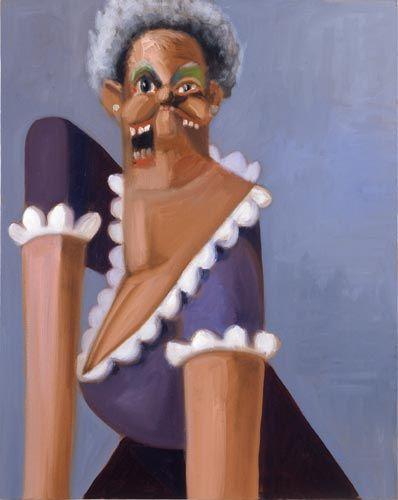 George Condo, Jean Louis' Grandmother, 2005