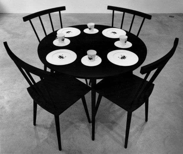 Katharina Fritsch, Robert Gober, Reinhard Mucha, Charles Ray, Rachel Whiteread, Installation view