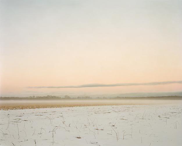 Joel Sternfeld February 28, 2007, The East Meadows, Northampton, Massachusetts