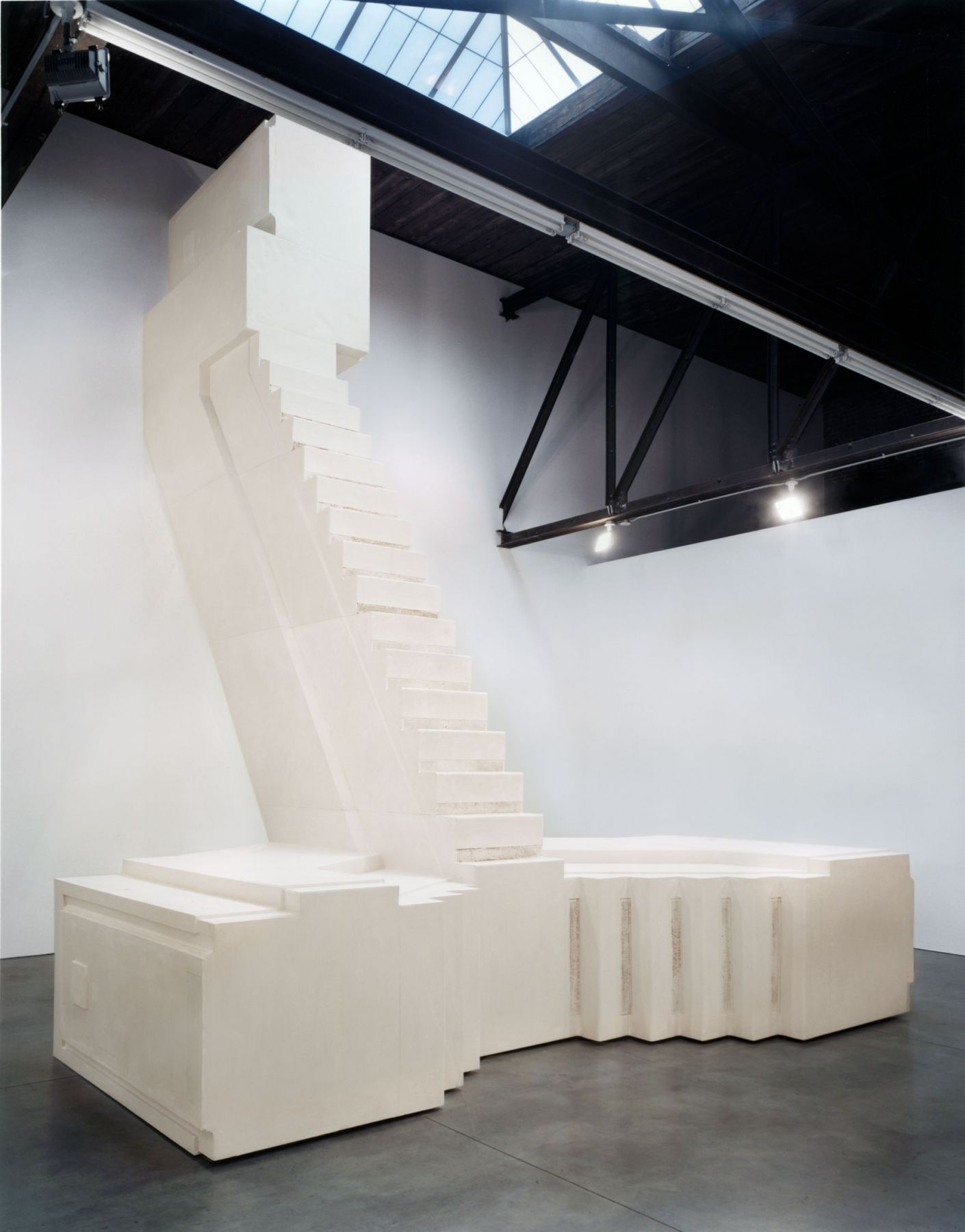 Rachel Whiteread, Installation view