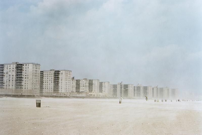 Joel Sternfeld, Rockaway Beach, New York City, (#2), August 1975