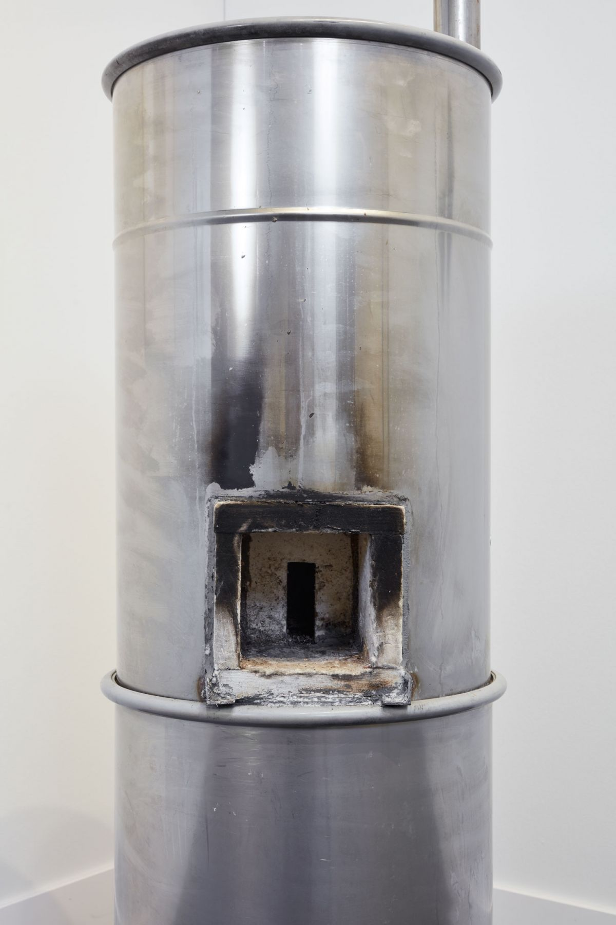Oscar Tuazon Rocket Stove (Camp Turtle Island), 2019