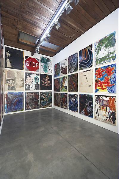 Josh Smith Installation view